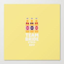 Team Bride Stockholm 2017 T-Shirt D0k5v Canvas Print
