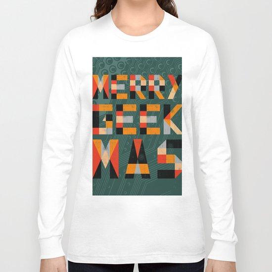 Merry Geekmas Long Sleeve T-shirt