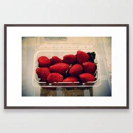 berries (red) Framed Art Print