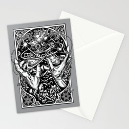 cat's cradle - vonnegut Stationery Cards