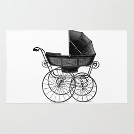 Baby carriage Rug