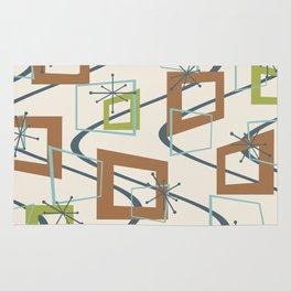 Mid Century Modern Minimalism Rug