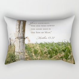 Sow the Good Seed Rectangular Pillow
