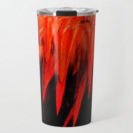 Red Saddle Travel Mug