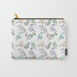 Watercolour birds Carry-All Pouch