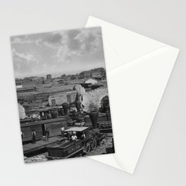 Atlanta Roundhouse In Ruins - 1866 Stationery Cards