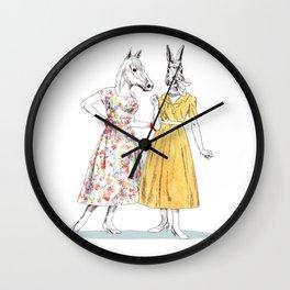 Bestial ladies Wall Clock