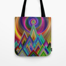 Summer Night at the Mountains Tote Bag
