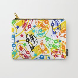 Candy Colored T@Bs Carry-All Pouch