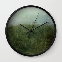 Summer Love at a Twilight Beach Wall Clock