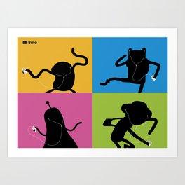 Bmo's Campaign Mosaic. Art Print