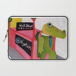 A for Alligator Laptop Sleeve