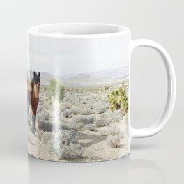 Desert Horse Pair Coffee Mug