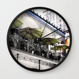 NOLA Pillow Cover Wall Clock