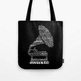 Invert gramophone Tote Bag