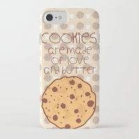 cookies iPhone & iPod Cases featuring Cookies by Mim sh.