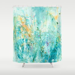 Whispering Meadow 1k by Kathy Morton Stanion Shower Curtain