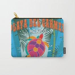 Playa Del Carmen Carry-All Pouch