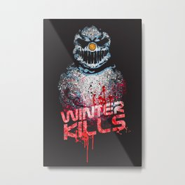 Winter Kills Metal Print