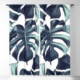 Tropical Monstera Leaves Dream #6 #tropical #decor #art #society6 Blackout Curtain