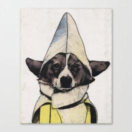Banana Dog Canvas Print