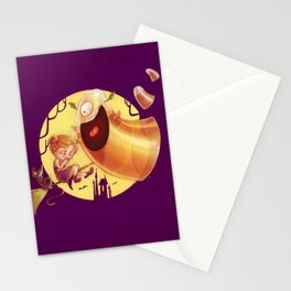 Candy Corn Moster Stationery Cards