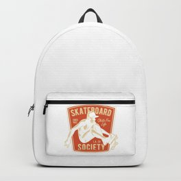 Skateboard Society Backpack