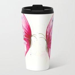 Rose butterflies Travel Mug