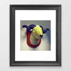 Taxidermy 3: Sheepish Framed Art Print