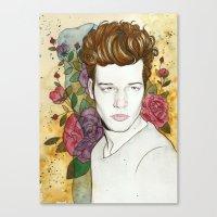jake Canvas Prints featuring Jake by Rose Ellen Swenson