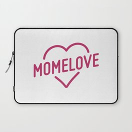 Pink Mome Love Laptop Sleeve