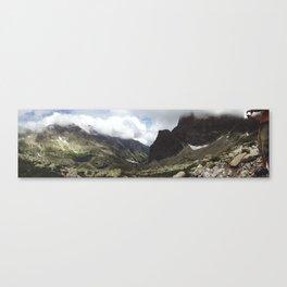 Breathtaking Alpine Lakes In The High Tatras Canvas Print
