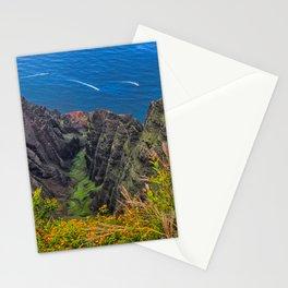Na Pali Coast Awaawapuhi Valley Stationery Cards