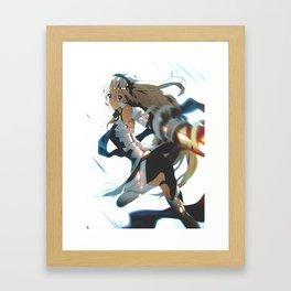 Smash 4 | Female Corrin Framed Art Print