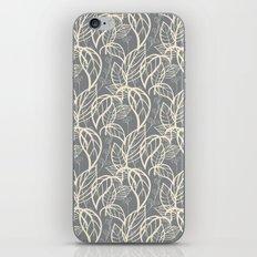 Leaves pattern 06 iPhone & iPod Skin