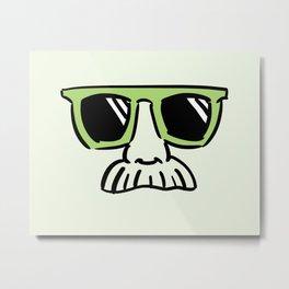 Too Cool (pea green) Metal Print