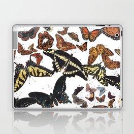 Butterflies of Maine Chart Laptop & iPad Skin