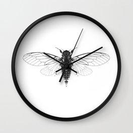 Divine Cicadas Wall Clock