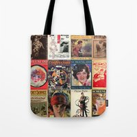 pulp Tote Bags featuring pulp by Jeni Decker