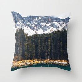 Nature Layers Throw Pillow