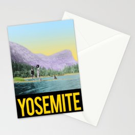 1940s Mirror Lake Yosemite Stationery Cards