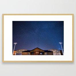 Ithaca Stadium Framed Art Print
