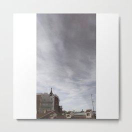 El mensajero (versión decolorada). Metal Print