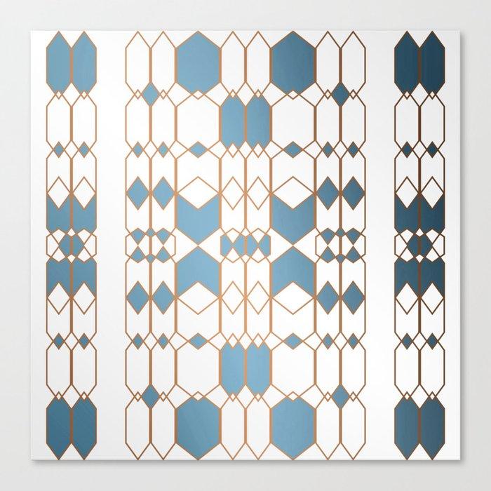 Patternbronze #1 Canvas Print