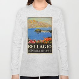 Italy Bellagio Lake Como Long Sleeve T-shirt