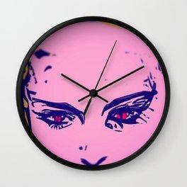 Purple Puma POP ART. Wall Clock