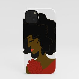 The Lady in Red iPhone Case