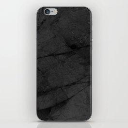 Dark Grey Marble iPhone Skin