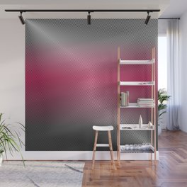 Metallic Hot pink Sheen Wall Mural