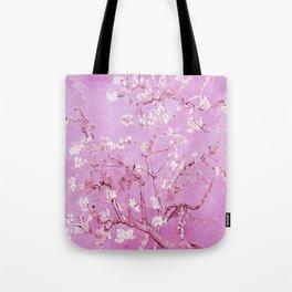 Vincent Van Gogh Almond BlossomS. Pink Lavender Tote Bag